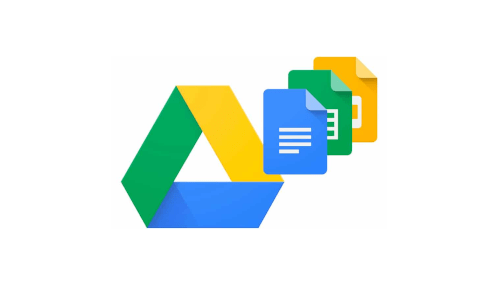 Logo de l'outil Google drive