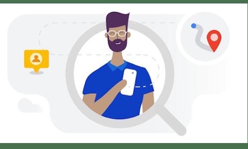 Illustration pour la formation en ligne Aidez les utilisateurs à trouver votre entreprise en ligne