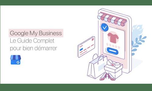 Illustration de la formation en lignel Google My Business